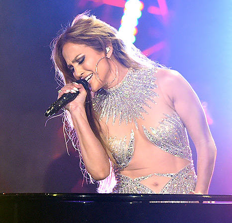Jennifer Lopez performs onstage at FOX's