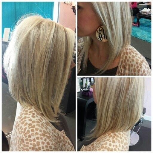 Long Bob Haircut for Medium Straight Hair