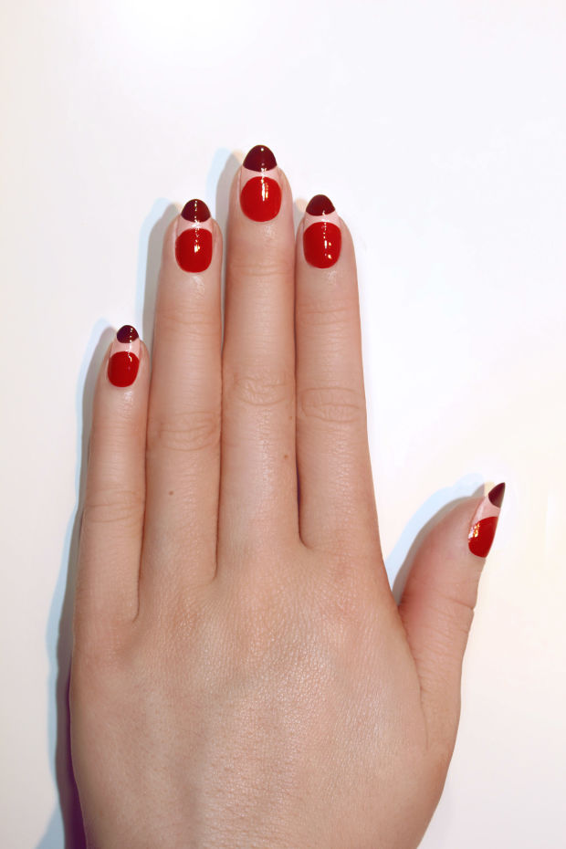 Apply JINsoon Nail Lacquer in Demure.