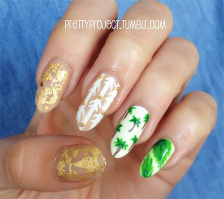 30 Best Cool Summer Nail Art Designs Ideas Trends Stickers 2015 23 30+ Best & Cool Summer Nail Art Designs, Ideas, Trends & Stickers 2015