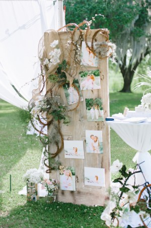 Romantic bohemian wedding with a touch of southern charm wedding outdoor wedding ceremony pasha belman photography rustic and romantic wedding ceremony decor pasha belman photography junglespirit Gallery