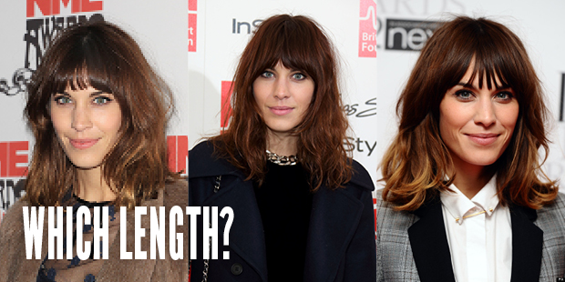 Which Length Hair Extensions For Alexa Chung's Hair