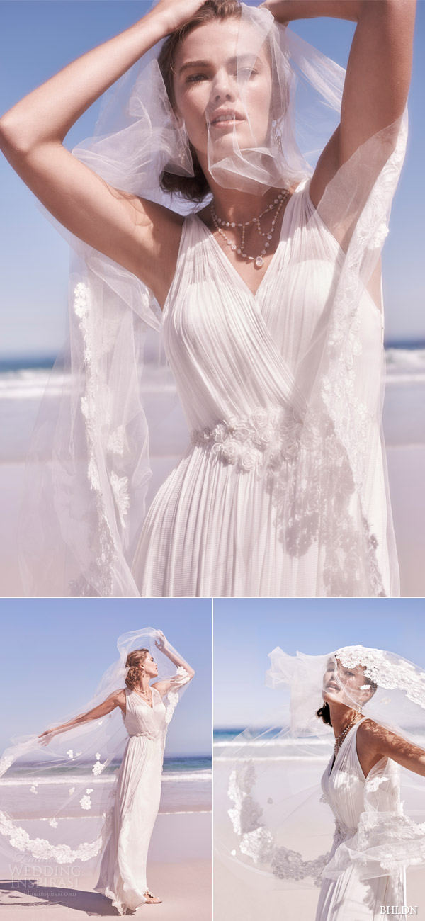bhldn summer 2015 avril sleeveless wedding dress surplice neckline catherine deane