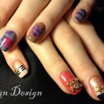 Japanese-Ran-Nail-Art-3d Design