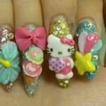 hello-kitty-3d-nails