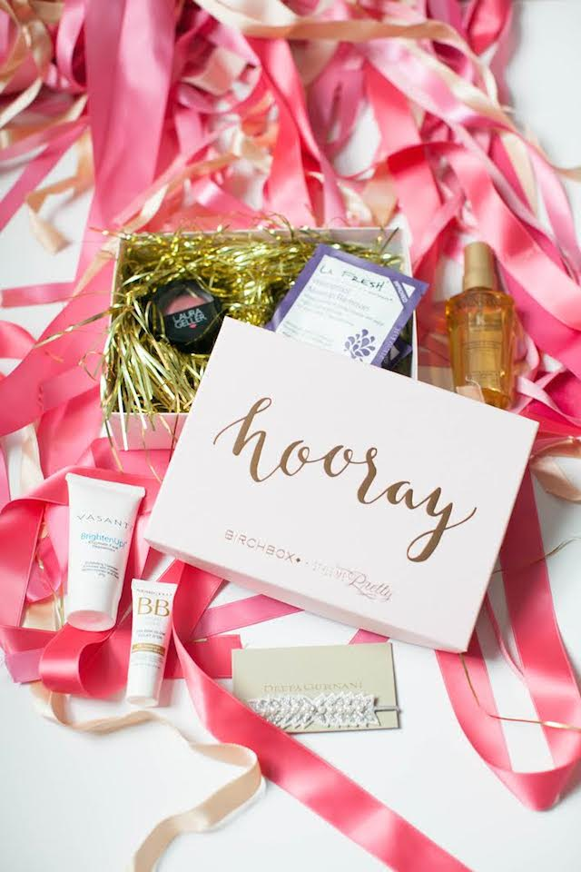 Beauty subscription box - the perfect bridesmaids gift | learn more: http://birch.ly/1SoFXGL