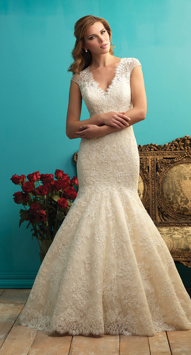 Allure Bridals Fall 2015 Wedding Dress