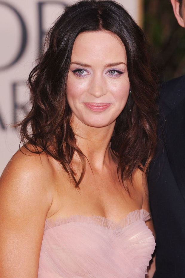 Emily Blunt at the 2010 Golden Globes.