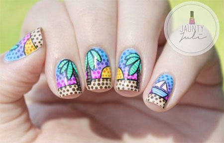 30 Best Cool Summer Nail Art Designs Ideas Trends Stickers 2015 21 30+ Best & Cool Summer Nail Art Designs, Ideas, Trends & Stickers 2015