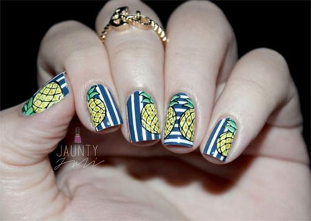30 Best Cool Summer Nail Art Designs Ideas Trends Stickers 2015 22 30+ Best & Cool Summer Nail Art Designs, Ideas, Trends & Stickers 2015