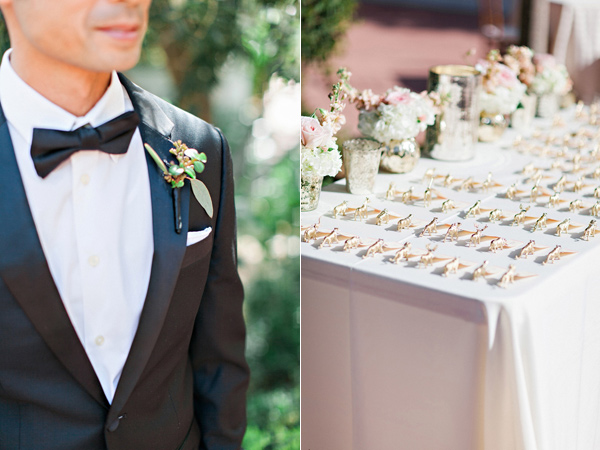 seating chart - photo by Pinkerton Photography http://ruffledblog.com/spring=romantic-wedding-in-the-desert