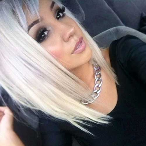 Best Platinum Long Bob