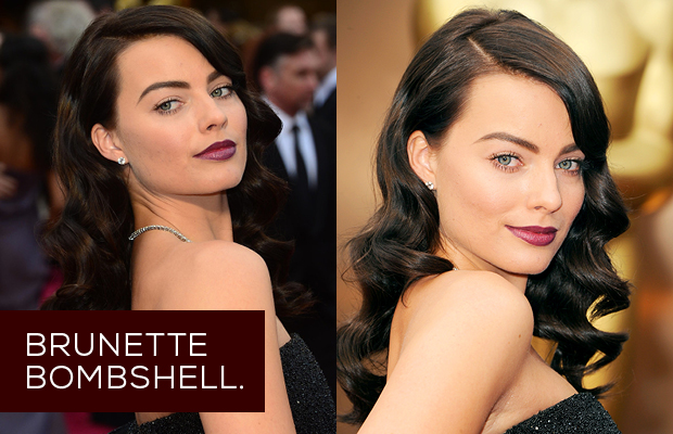 Margot-Robbie's-Hair-Brunette-Bombshell