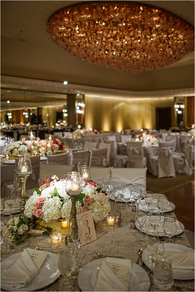 Blush, Orange, Silver & Gold Wedding at 4 Seasons Hotel Houston by D.C. Stanley Photography