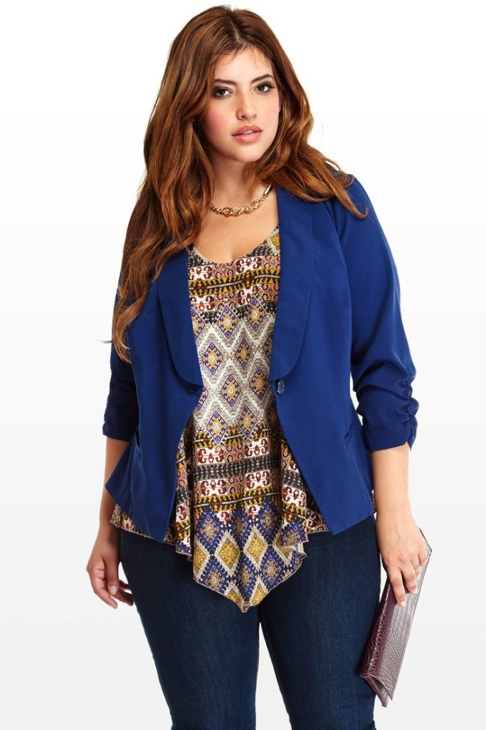 Plus size High School/ College Outfits (17)