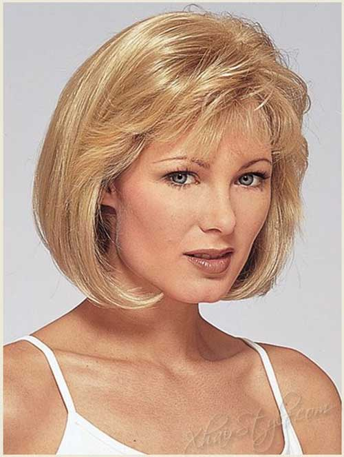 Older Round Faces Women Short Haircuts