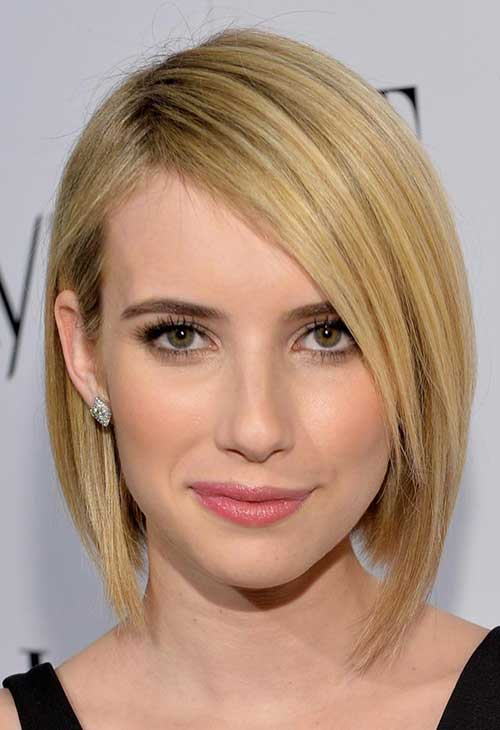 Emma Roberts Hairstyles for Fine Hair