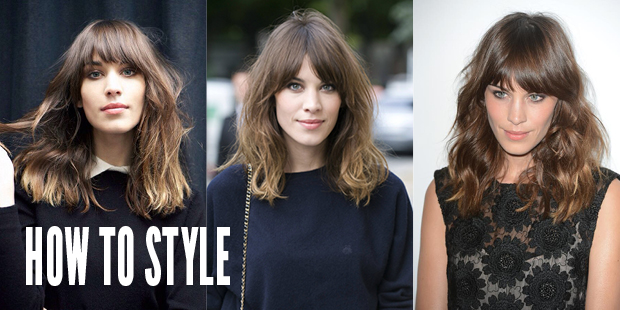 How to Style Hair Extensions Like Alexa Chung