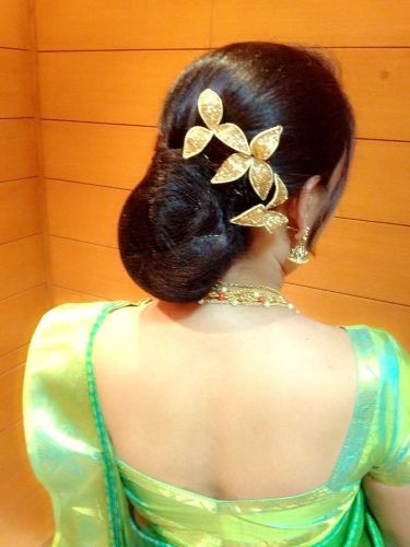 south indian bridal hairstyles.4