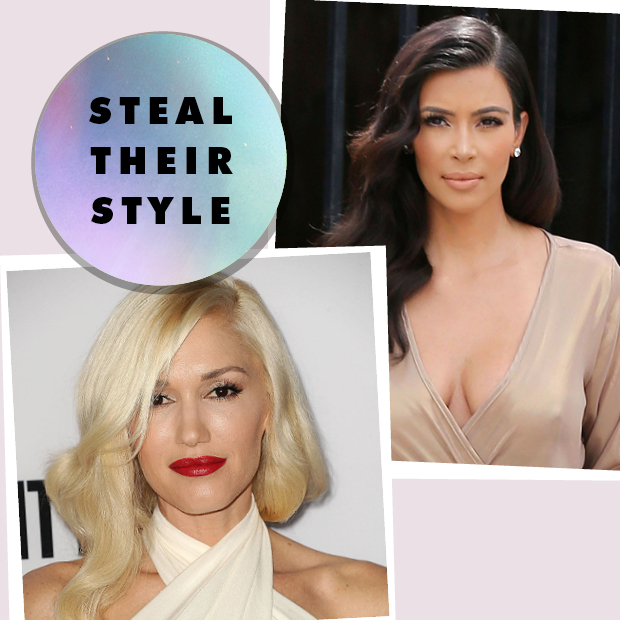 Gwen Stefani and Kim Kardashian, Steal their Style