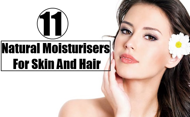 Natural Moisturisers For Skin And Hair