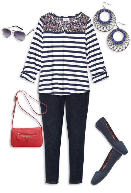 Plus size High School/ College Outfits (7)