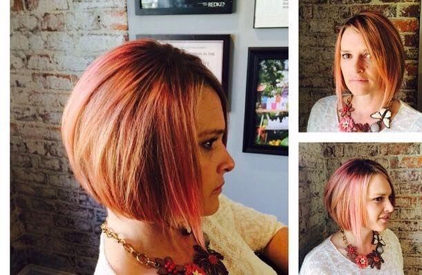 Short Straight Bob Haircut for Women - Stylish Hair Color