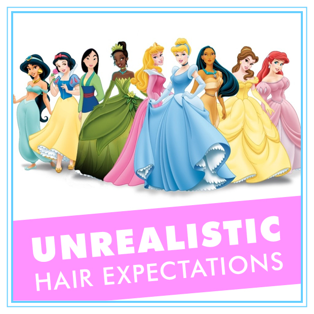 Unrealistic hair Expectations