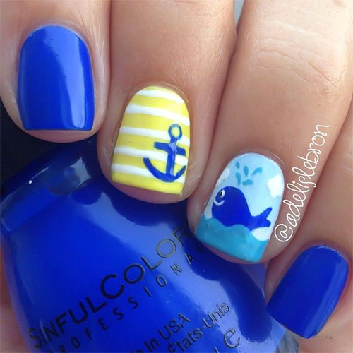 18 Beach Nail Art Designs Ideas Trends Stickers 2015 Summer Nails 6 18 Beach Nail Art Designs, Ideas, Trends & Stickers 2015 | Summer Nails