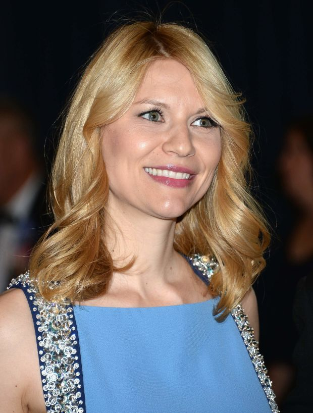 Claire Danes at the 2013 White House Correspondents' Dinner.
