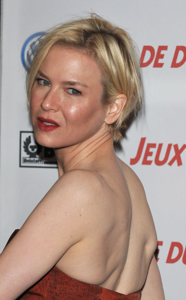 Renée Zellweger at the 2008 premiere of 'Leatherheads'.