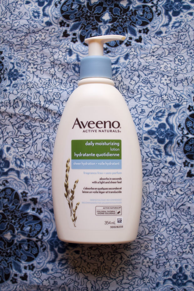 New Aveeno Daily Moisturizing Lotion Sheer Hydration.