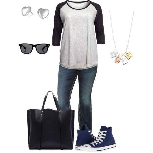 Plus size High School/ College Outfits (4)
