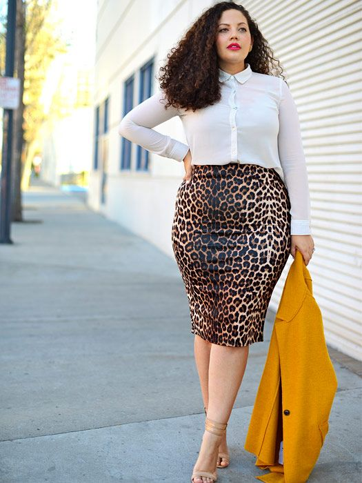 plus size women outfits with skirts (1)