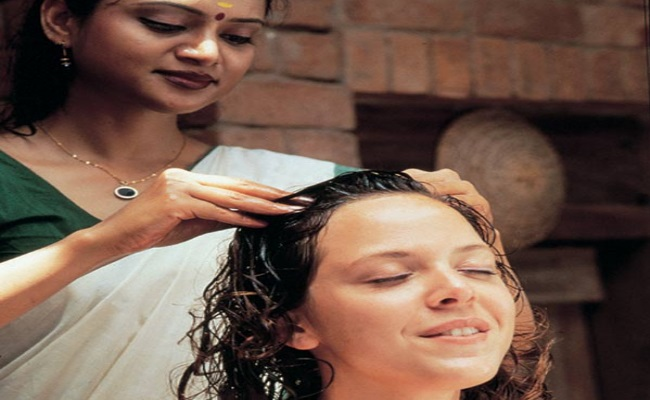 Herbal Oil Massage for Hair Growth