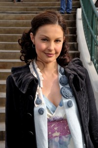 Ashley Judd 2015 Curly Hairstyles and Brown Hair Color