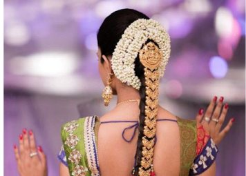 south indian bridal hairstyles.9