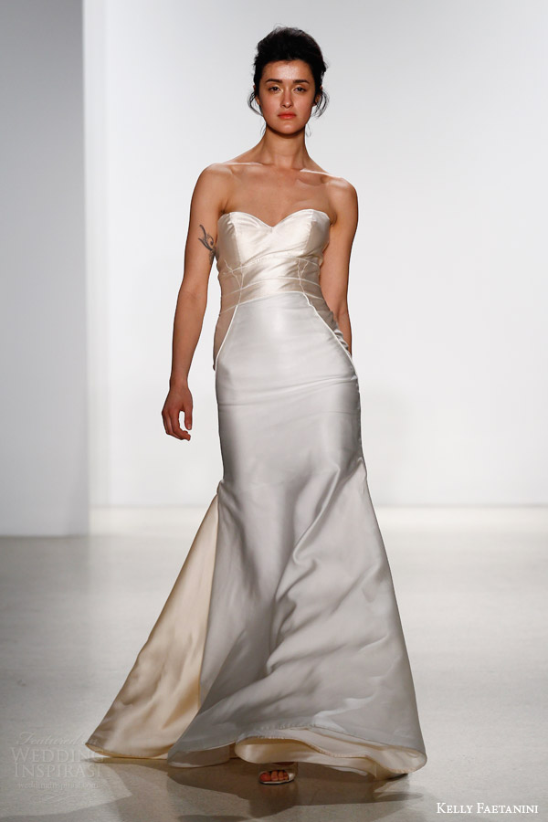 kelly faetanini bridal spring 2016 cora strapless wedding dress