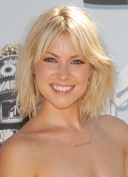 Laura Ramsey Bob Hairstyles for Fine Hair 2014