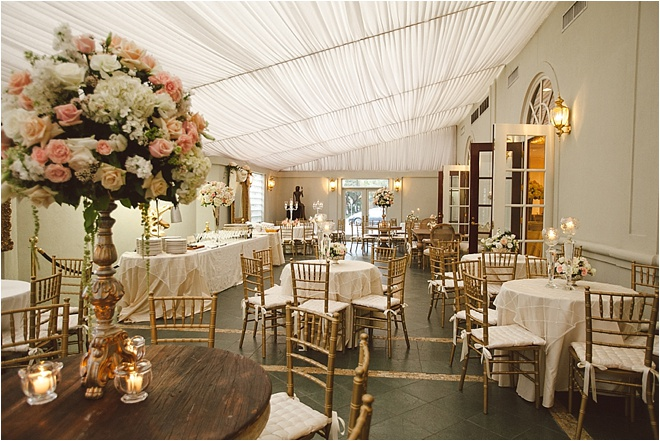 Blush, Gold & Ivory Wedding at La Colombe d'Or by J. Cogliandro Photography