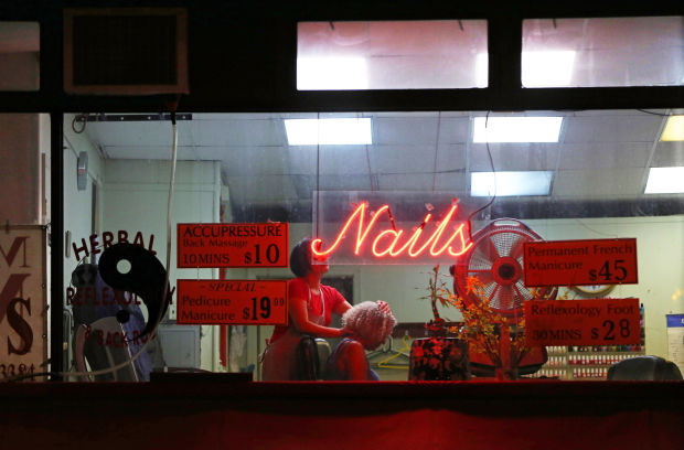 Exploitation is common at nail salons across the U.S. ;