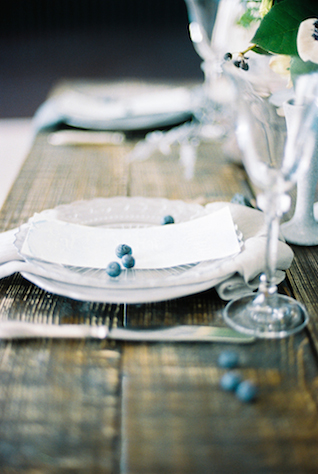 Pewter plate | Maria Levitska | see more on: http://burnettsboards.com/2015/05/cold-sea-shore-stormy-wedding-editorial/