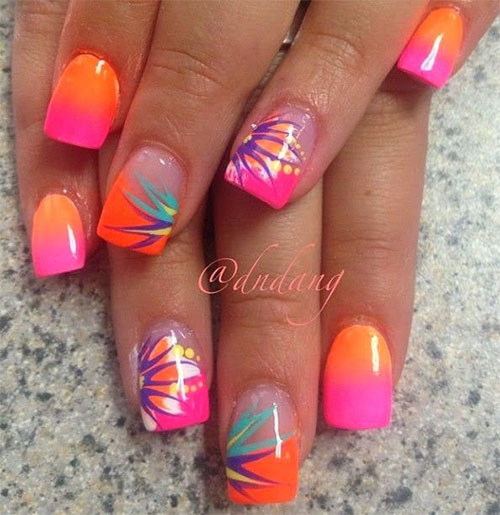 18 Beach Nail Art Designs Ideas Trends Stickers 2015 Summer Nails 1 18 Beach Nail Art Designs, Ideas, Trends & Stickers 2015 | Summer Nails