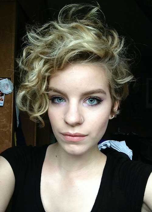 Longer Curly Pixie Haircuts