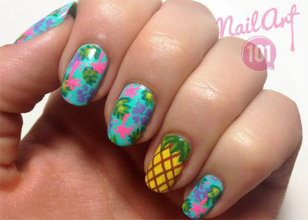 30 Best Cool Summer Nail Art Designs Ideas Trends Stickers 2015 20 30+ Best & Cool Summer Nail Art Designs, Ideas, Trends & Stickers 2015