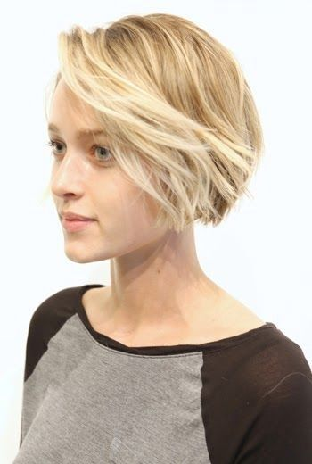 Cute A-line Bob Haircut for Girls