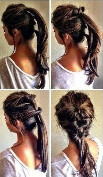 easy hairstyles for long hair1