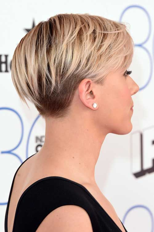 Lovely Pixie Cut Hairstyle