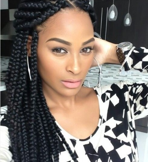 Glamorous African American Women Hairstyle