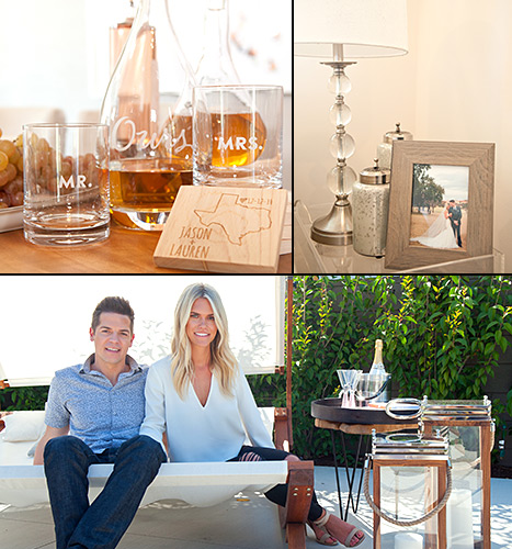 The personalized touches at Lauren Scruggs and Jason Kennedy's L.A. home.